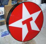 33in Texaco  canister sign V G