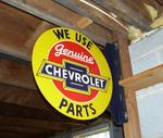 Chevrolet flange sign