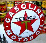 42in Texaco Porcelain Sign